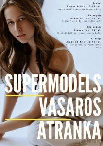 """Modelių agentūra """"Supermodels"""" kviečia į vasaros atrankas"""