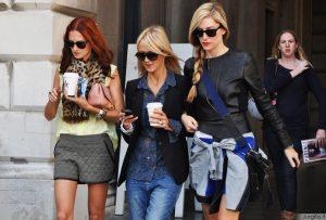 Londono gatvių stilingiausi