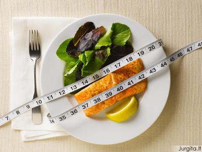 Patarimai metant svorį