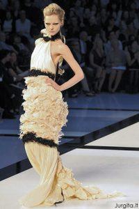 Paryžiaus Couture mados savaitė. Chanel.