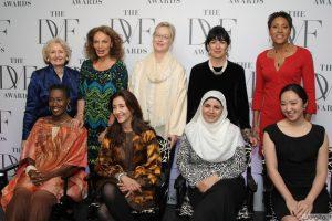 Diane Von Furstenberg moterų apdovanojimai