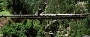 Prabangi kelionė traukiniu