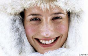 Kaip apsaugoti veido odą nuo šalčio?