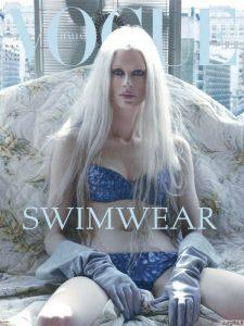 """""""Vogue"""" viršelyje - Žila supermanekenė"""