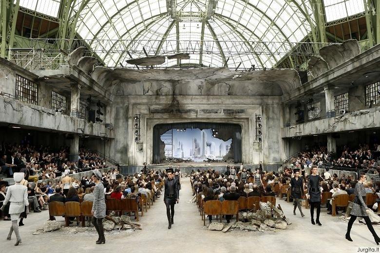 Įspūdingas Chanel rudens/žiemos kolekcijos pristatymas