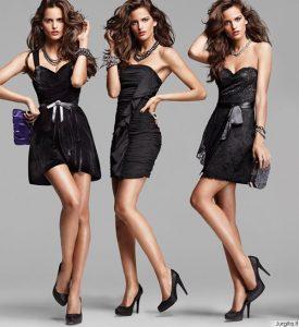 Privalu turėti: maža juoda suknelė