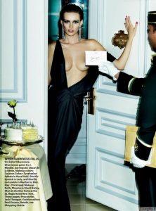 Editos Vilkevičiūtės fronte nieko seno! Mario Testino, Vogue, Terry Richardson, YSL, Calvin Klein – tokie vardai rašomi šalia jos...