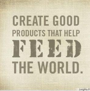 Mada, kuri gelbsti gyvybes: FEED