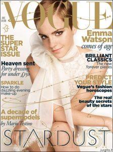 Emma Watson ir kitos žvaigždės gruodžio mėnesio Vogue UK