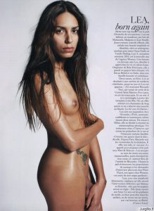 """""""Vogue"""" puslapiuose – nuogas transseksualas"""