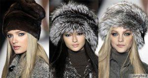 Rudens/žiemos kepurių mados