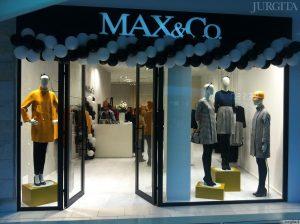 """Pirmoji """"Max&Co"""" parduotuvė Lietuvoje"""