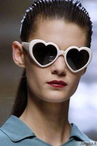 Vasaros topas -  širdelės formos akiniai