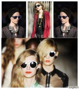 Apvalūs akiniai nuo saulės – stiliaus klaida?