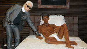 Šokoladinės Karl Lagerfeld aistros