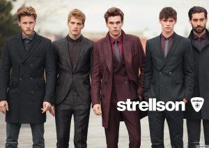 """Vyriška mada: """"Strellson"""" debiutas ir tamsiai raudonų švarkų sugrįžimas"""